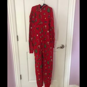 H and M Christmas onesie